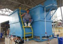 Clarifier Lamella Pengolah Air Limbah